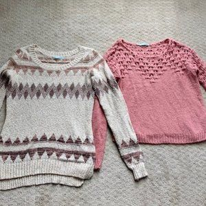 Lot of 2 Maurices Sweaters (listed price for both)